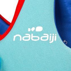 Chaleco de natación azul-rojo