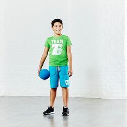 Fitness short met opdruk voor jongens - 785630