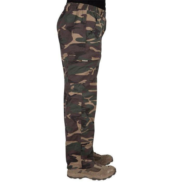 Jagdhose Steppe 300 camouflage grün