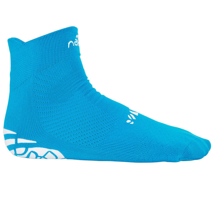 Sokken zwemsport Aquasocks kinderen blauw