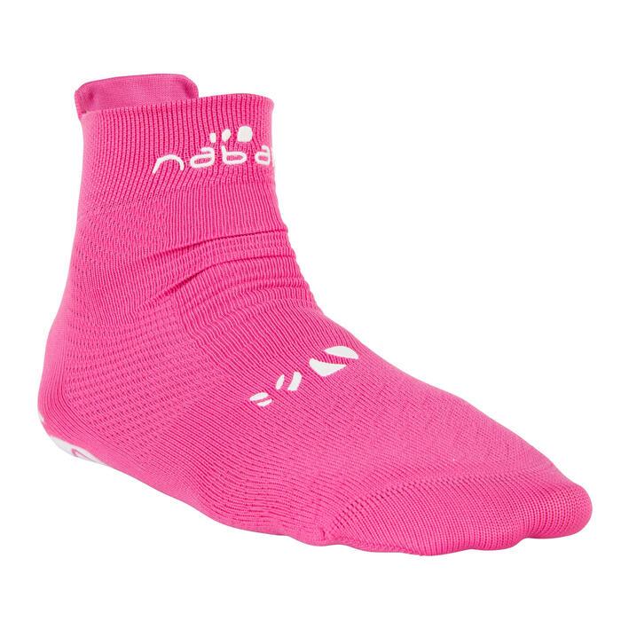 Sokken zwemsport Aquasocks kinderen roze