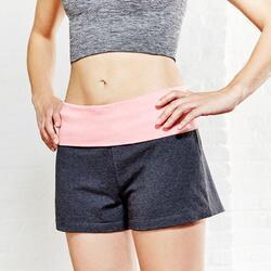 Naadloos sporttopje Yoga+ voor dames - 786459