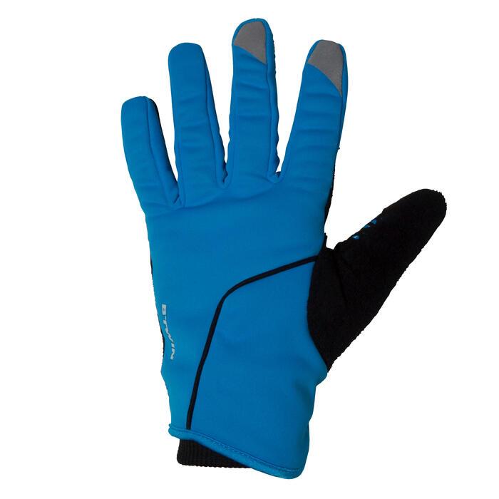 Gants vélo enfant 500 hiver bleu - 78662