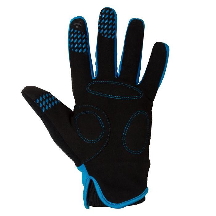 500 Children's Winter Bike Gloves - Blue - 78664