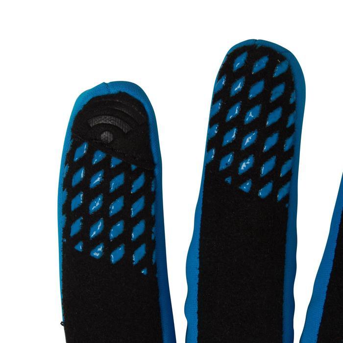 Gants vélo enfant 500 hiver bleu - 78665