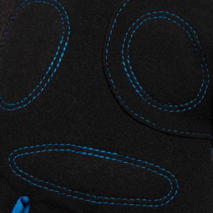 Gants vélo enfant 500 hiver bleu