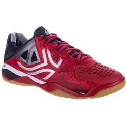 Badmintonschoenen voor heren Artengo BS900 intensief gebruik rood