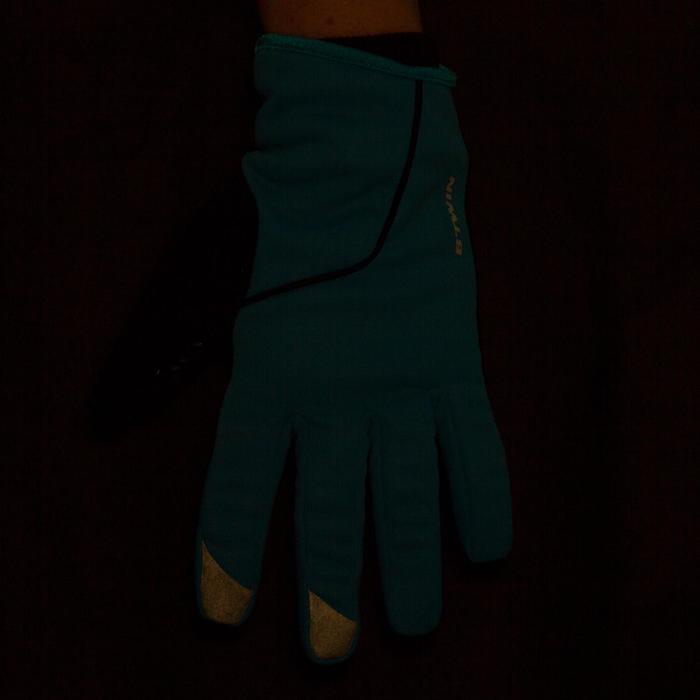 500 Children's Winter Bike Gloves - Blue - 78676