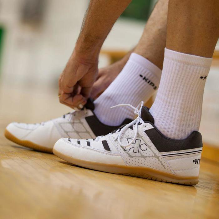 Chaussures de volley-ball adulte V100 blanches - 786849