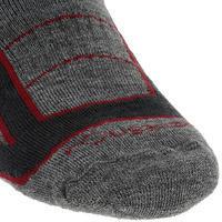 Training Adult Warm Horse Riding Socks x1 Pair - Grey