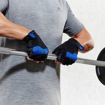 Fitnesshandschoen met klittenbandsluiting - 788947