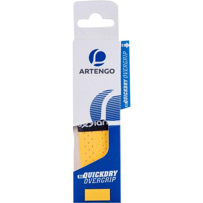 QuickDry Badminton Overgrip Single-Pack - Yellow - 789000