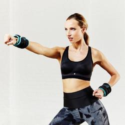 Fitnessbeha Shape+ voor dames gemêleerd - 789219