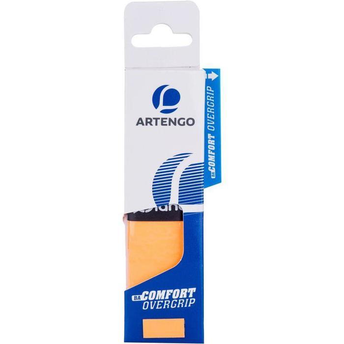 Comfort Badminton Overgrip Single-Pack - Orange - 789659