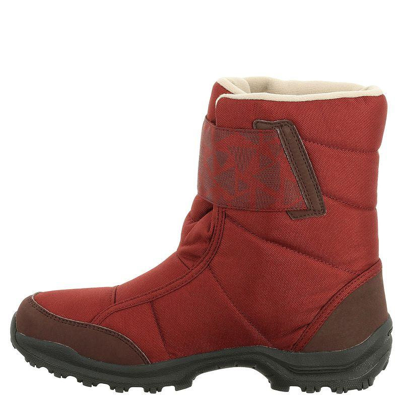 SH300 Women's Warm and Waterproof Snow Hiking Boots - Red