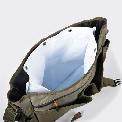 Сумка для приманки з кишенями для ловлі форелі - Хакі