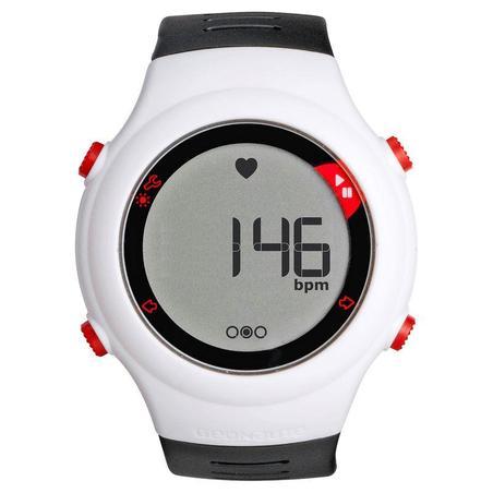 Reloj y cinturón cardiofrecuencímetro ONRYTHM 110 blanco