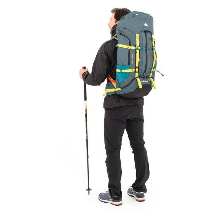Mochila Trekking EasyFit hombre 70 litros azul