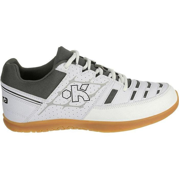 Chaussures de volley-ball adulte V100 blanches - 791202