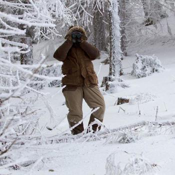 Jagd-Handschuhe Toundra 500 braun