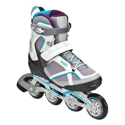 FIT 5 Women's Inline Fitness Skates - Grey/Blue