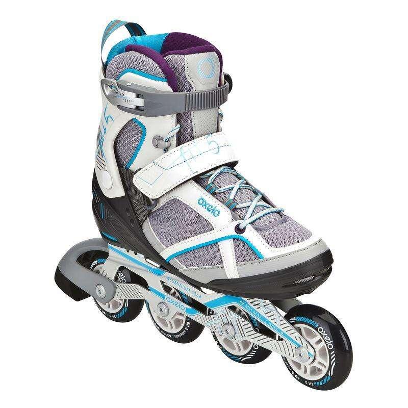 Детские коньки Роликовые коньки - Роликовые коньки Fit 5 жен. OXELO - Семьи и категории
