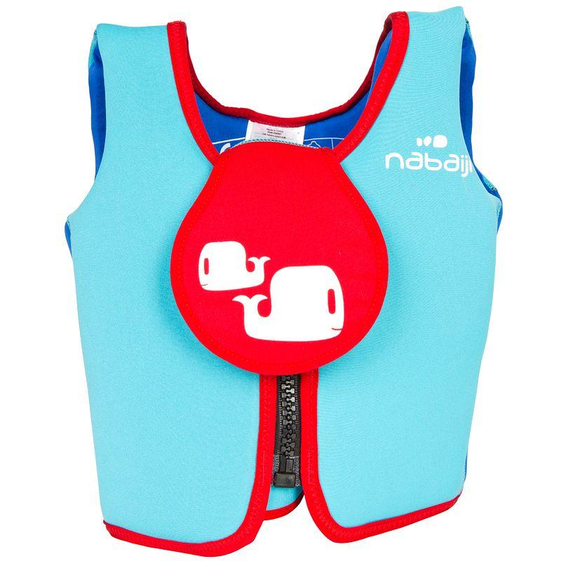 Foam swim vest blue-red