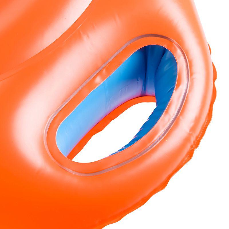 Orange 11-15 kg Baby Seat Ring with window and handles