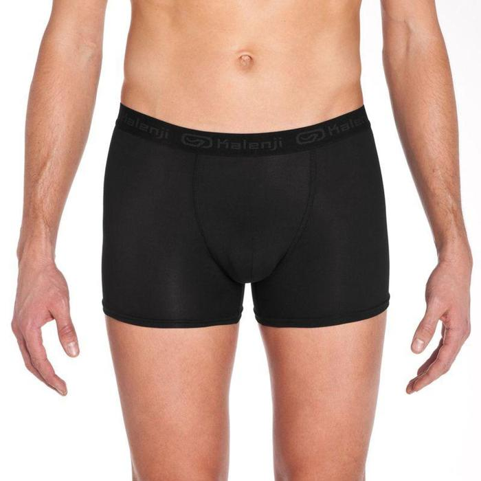 Men's Running Breathable Boxers Prussian Blue - 792253