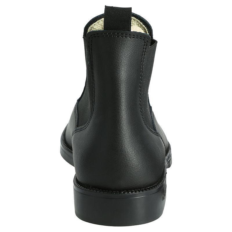 Boots équitation adulte et enfant cuir noir CLASSIC