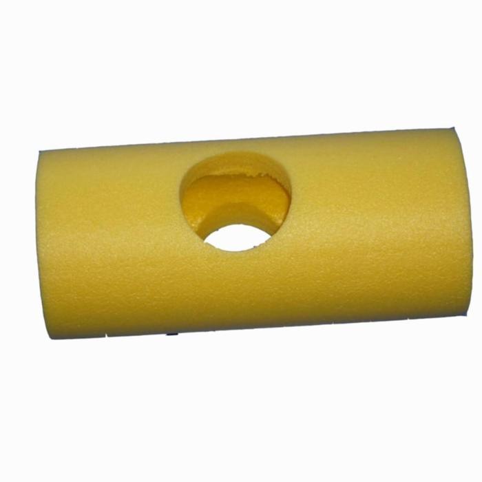 Verbindingsstuk geel voor schuimnoodles