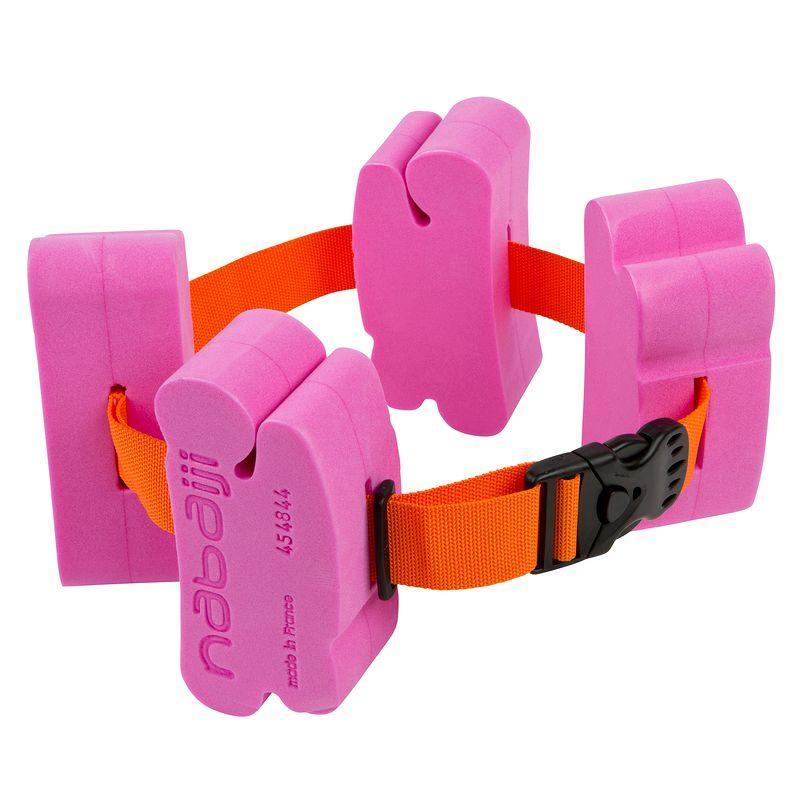 Children'S Swimming Belt With Foam Floats,15-60 Kg - Pink
