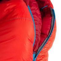 FORCLAZ 0° LIGHT Hiking Sleeping Bag Red Left Zip