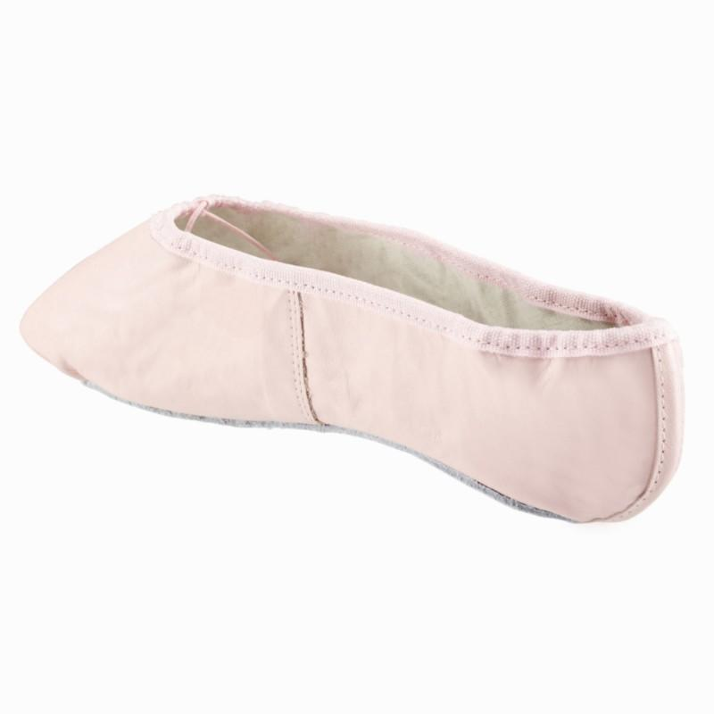 Leather Demi Pointe Shoes - Pink