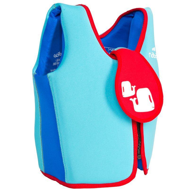 Swim vest blue-red
