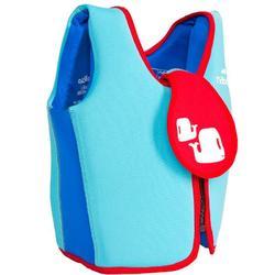 Colete de Natação básico Azul (15-18 kg e 18-30 kg)