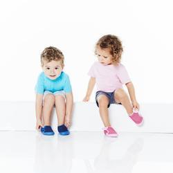 Gymschoentjes 500 Babylight blauw