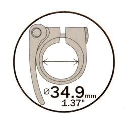 Zadelklem 34,9 mm - 793514