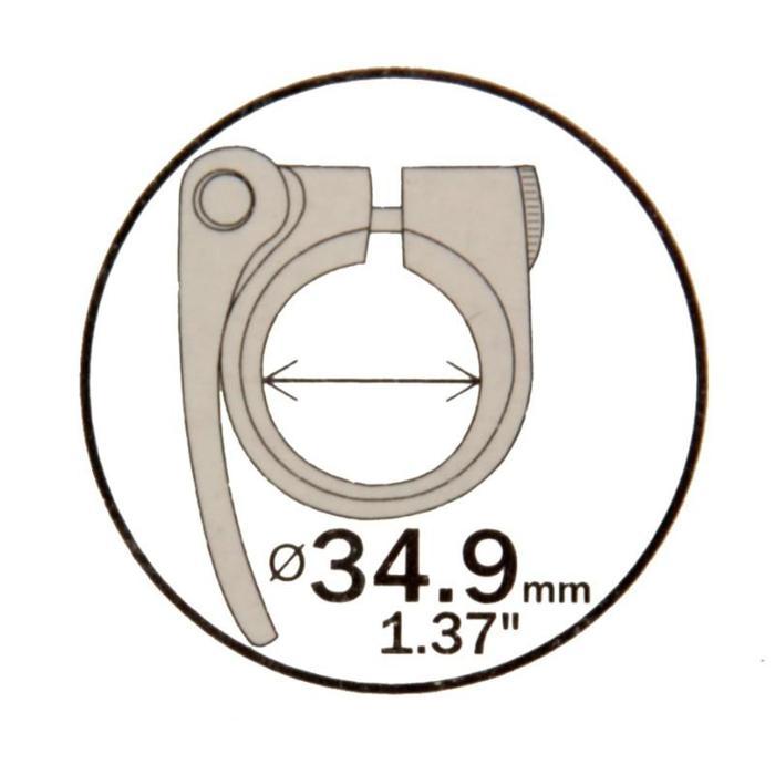 Zadelklem 34,9 mm