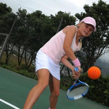 TB100 FOAM TENNIS BALL - ORANGE - 793562