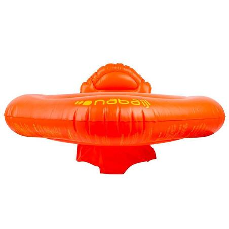 Inflatable Baby Seat Swim Ring, 11-15 Kg orange