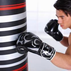 Standboxsack Boxing Machine schwarz
