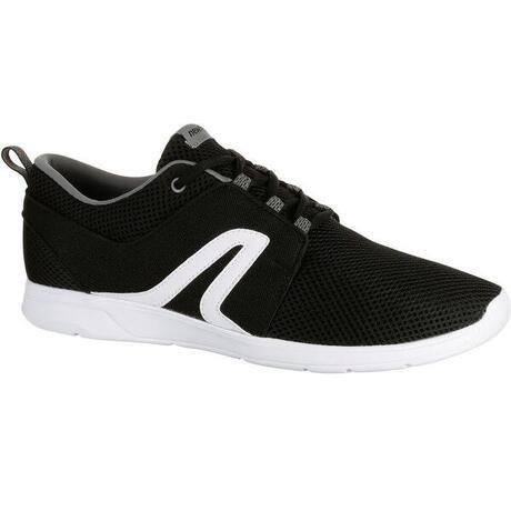 Sportive 140 Chaussures Soft Marche Noir Newfeel Blanc Mesh Homme OqwqBz51
