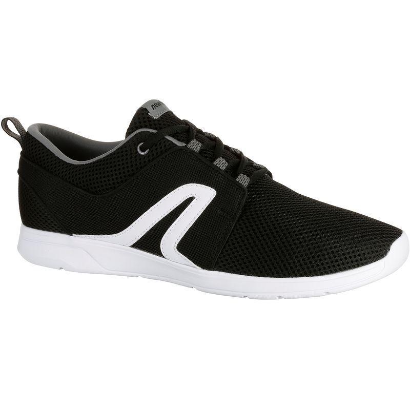 Soft 140 Mesh Men's Fitness Walking Shoes - Black/White