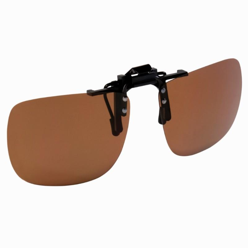 DUSKY Clip On polarized fishing sunglasses