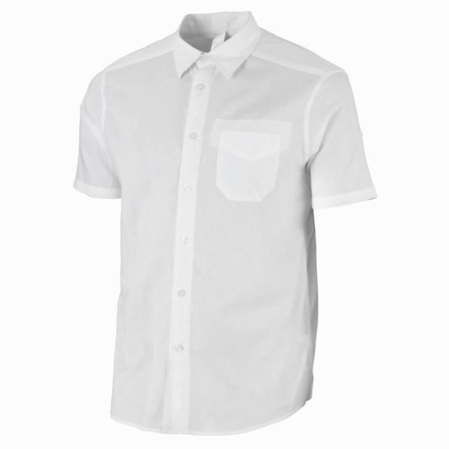 Men's Travel Shirt Arpenaz 20 - White