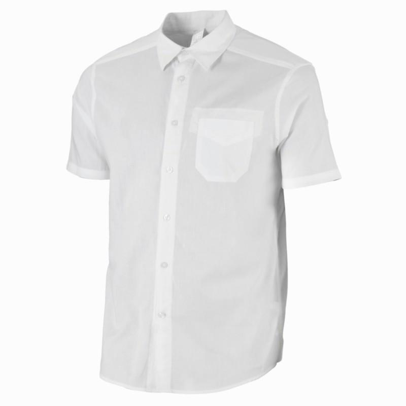 Arpenaz 20 Short-Sleeved Hiking Shirt - White