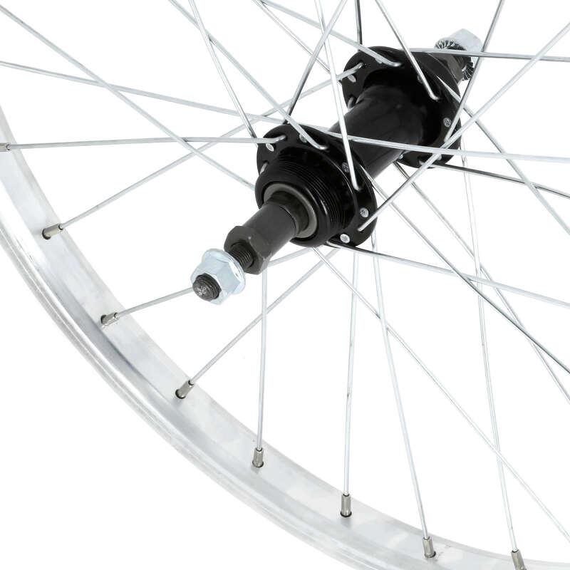 """Kerekek gyerek kerékpárokhoz Kerékpározás - Hátsó kerék, 20"""" BTWIN - Alkatrész, tárolás, karbantartás"""