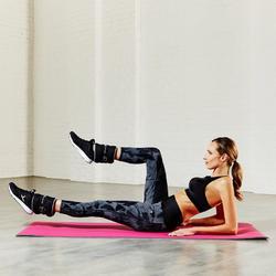 Fitnessbeha Shape+ voor dames gemêleerd - 795110