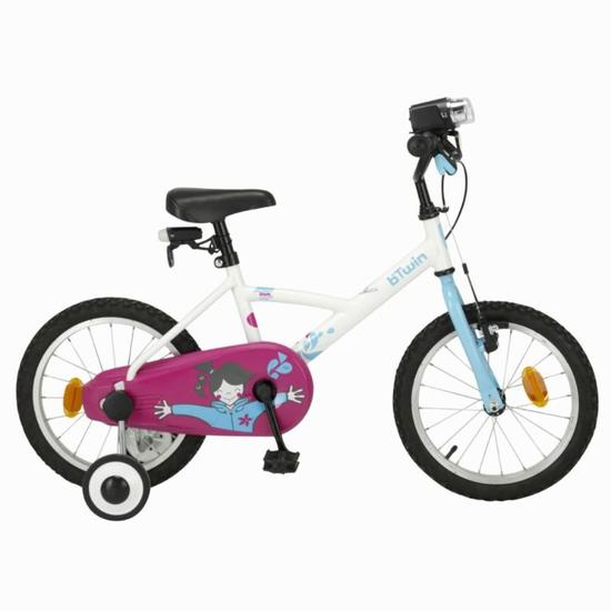 Stabilisateurs vélo enfant 16 pouces BTWIN